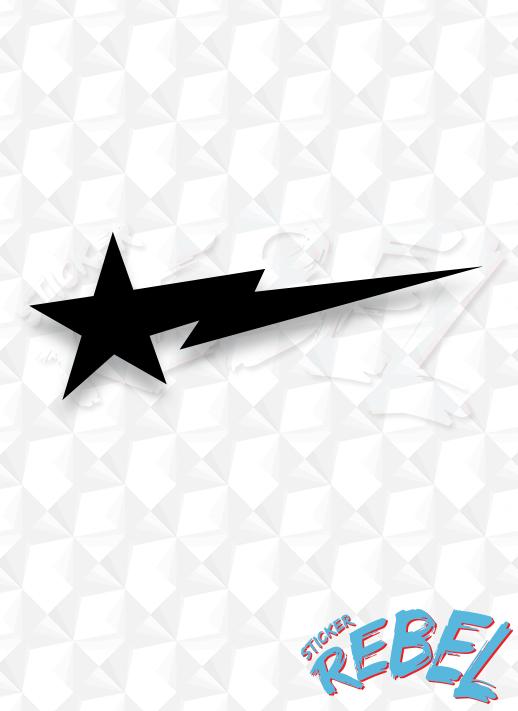 bape star stickers.