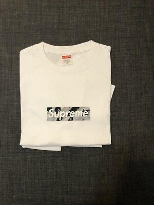 SUPREME X BAPE Box logo Tee Size M.
