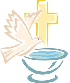 Free Baptism Clipart.
