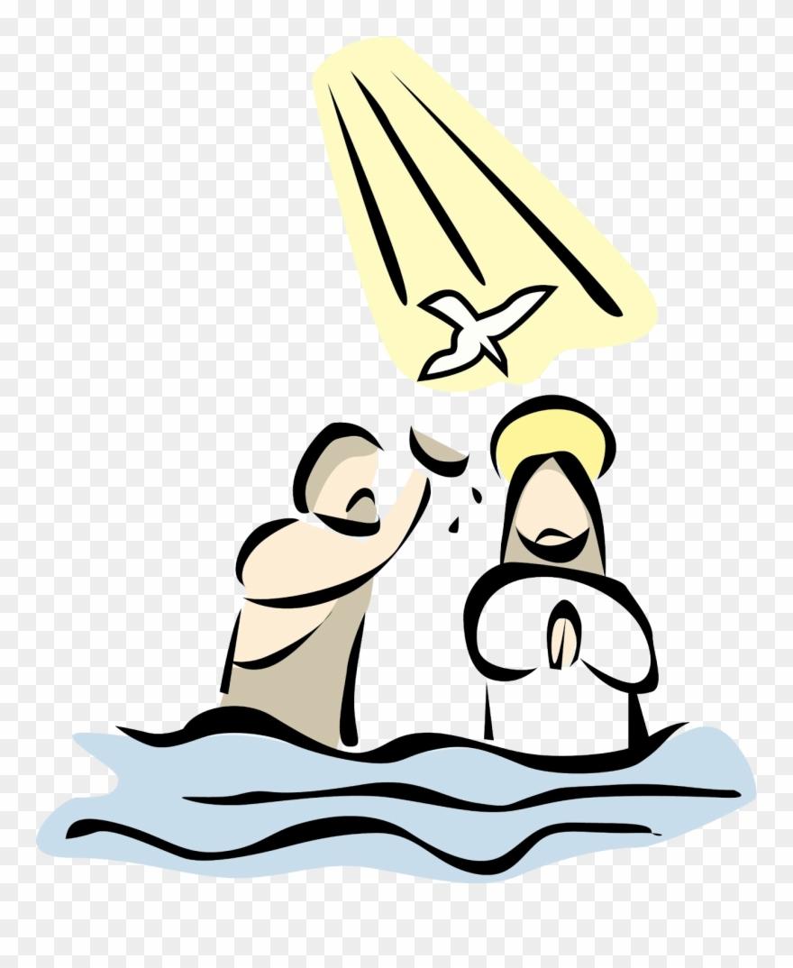 Jesus Clipart Baptism.