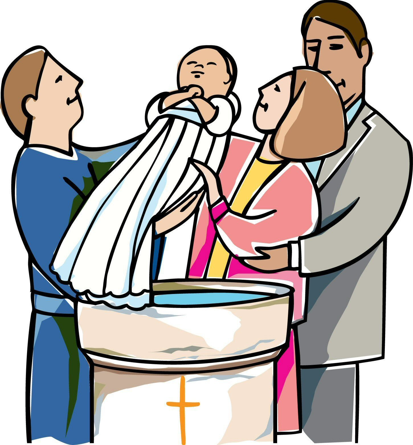 2322 Baptism free clipart.
