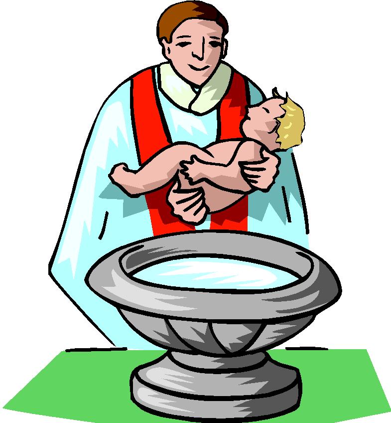 Showing post & media for Christening clip art cartoon.
