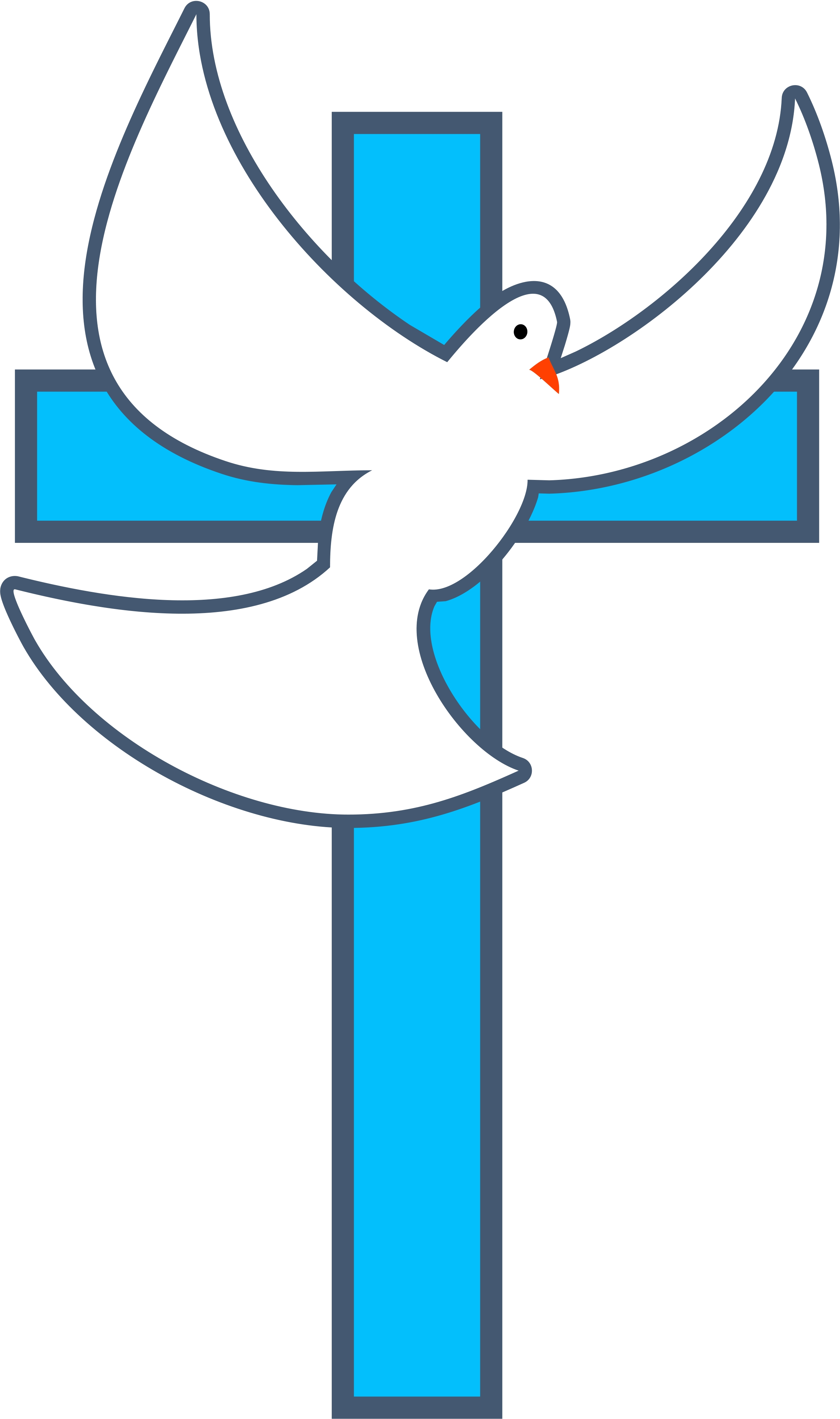 Baptism Cross Clip Art.