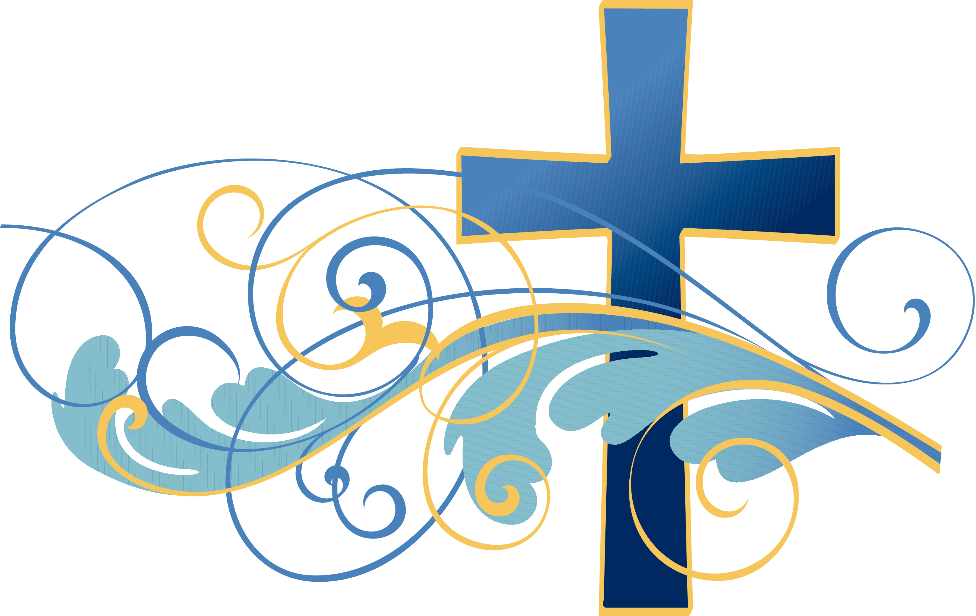Catholic Baptism Clipart.
