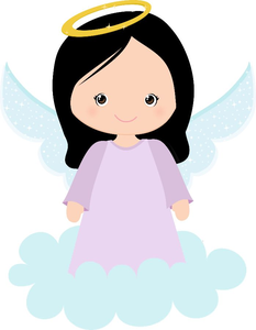 Baby Girl Baptism Clipart.