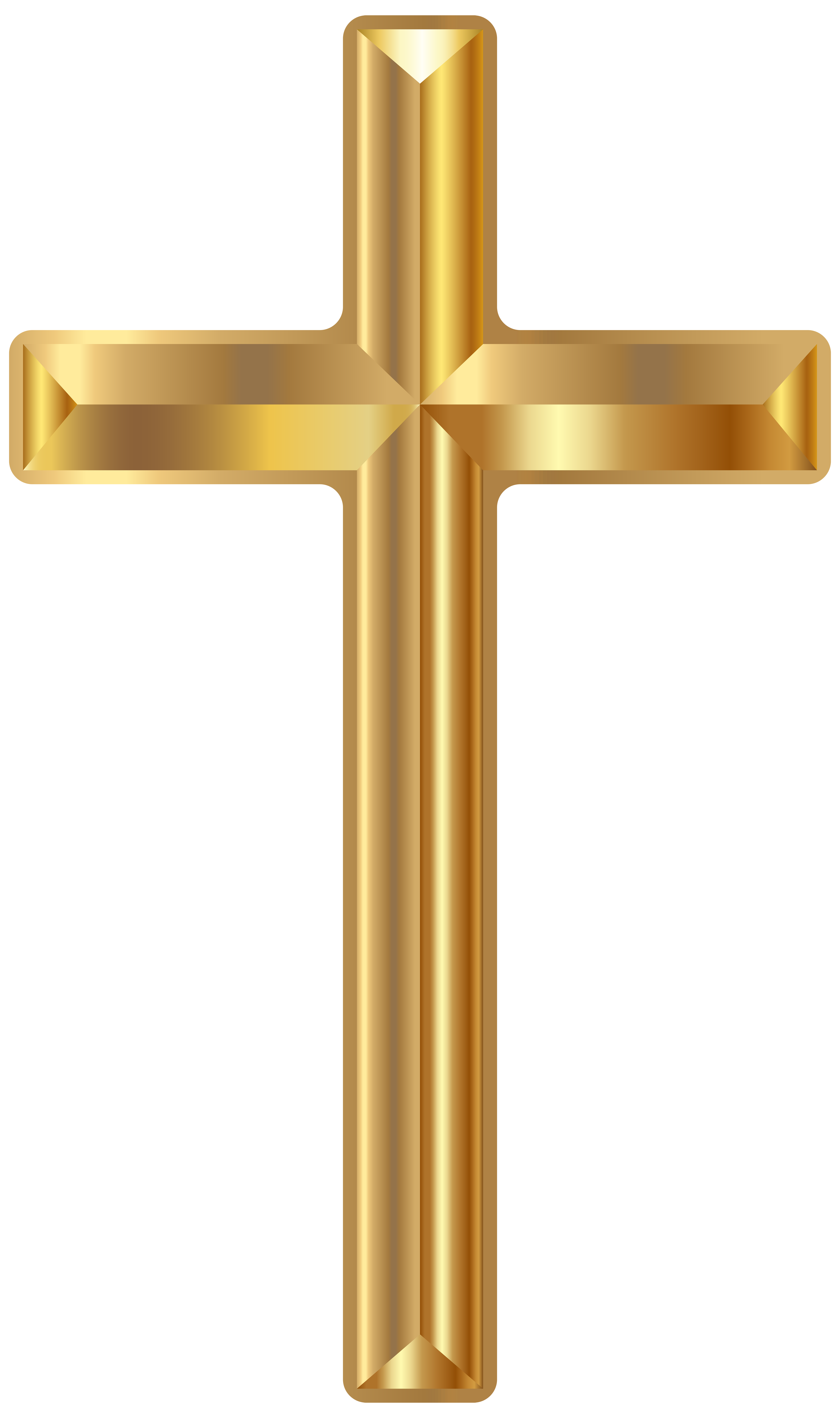 Gold Cross Clipart Png.