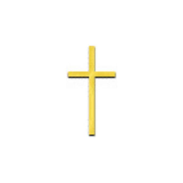 Free Clipart Picture of Small, Gold Cross ❤ liked on.