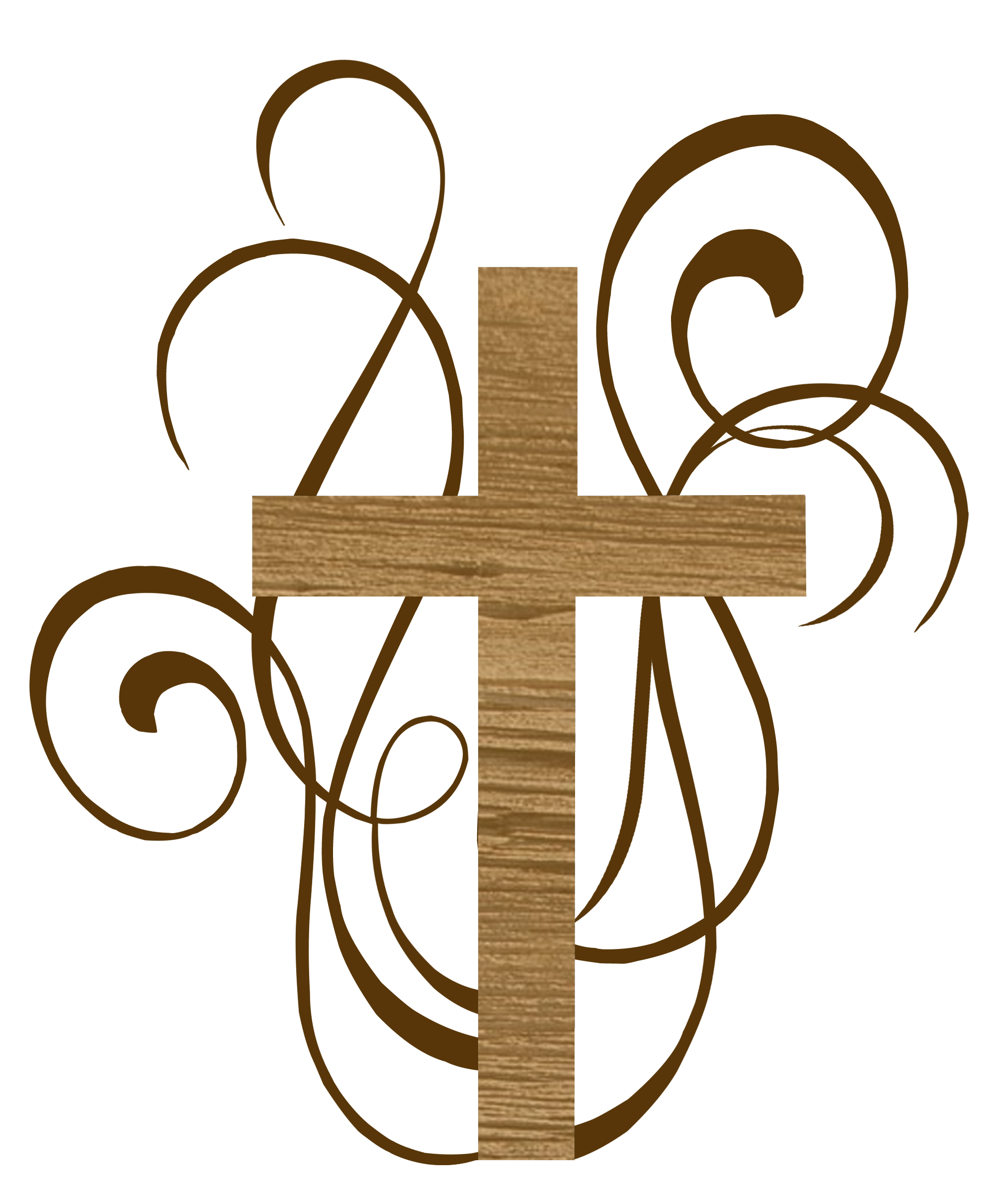 Catholic Baptism Cross Clipart.