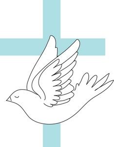 Baptism Dove Clipart.