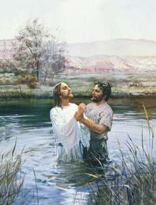 Clipart Baptism Of The Lord.