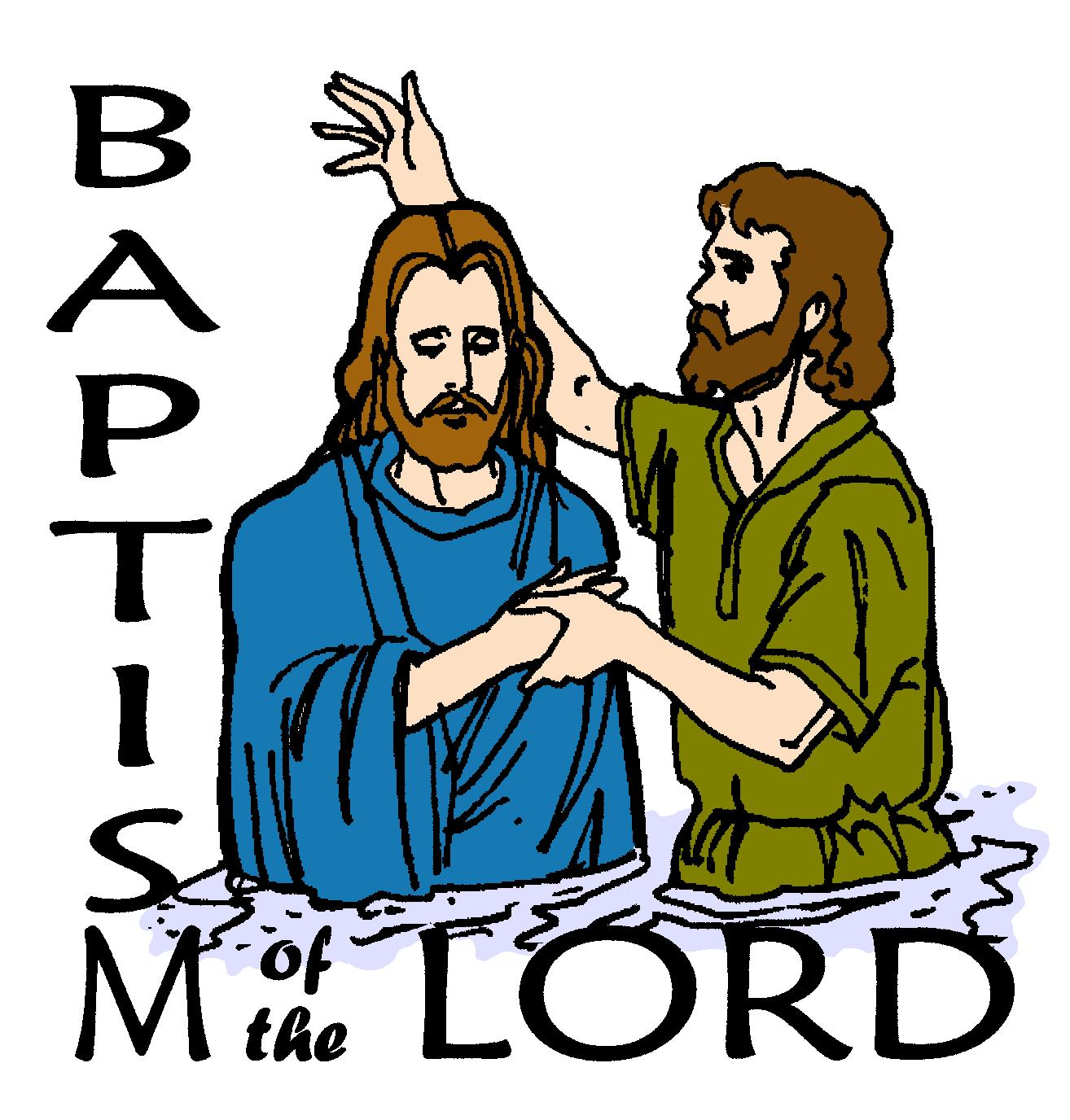 baptism of the lord free clipart #5