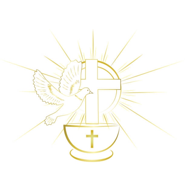 Best Baptism Illustrations, Royalty.