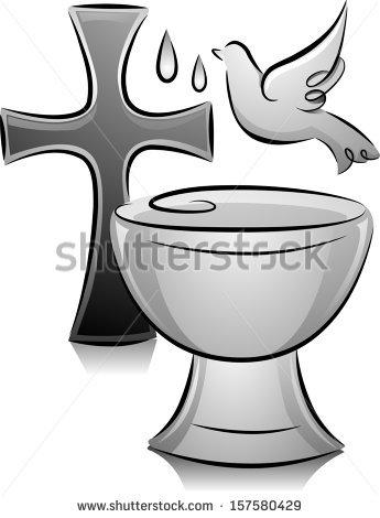 Baptismal Font Stock Photos, Royalty.
