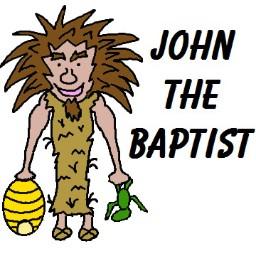 John the baptist clip art.
