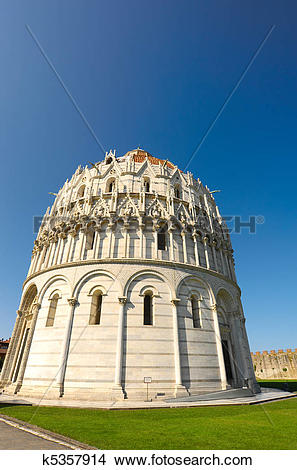 Stock Photo of The Baptistery k5357914.