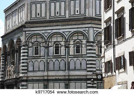 Stock Photo of Florence Baptistery k9717054.