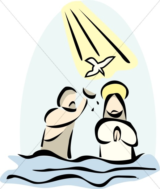 Baptism of the Lord Images, Baptism of Jesus Clipart.