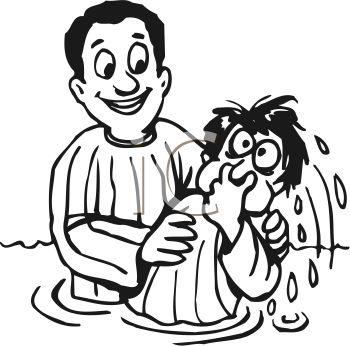Christening Cartoon Clipart.