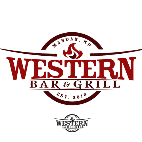 Create the next logo for Western Bar & Grill.