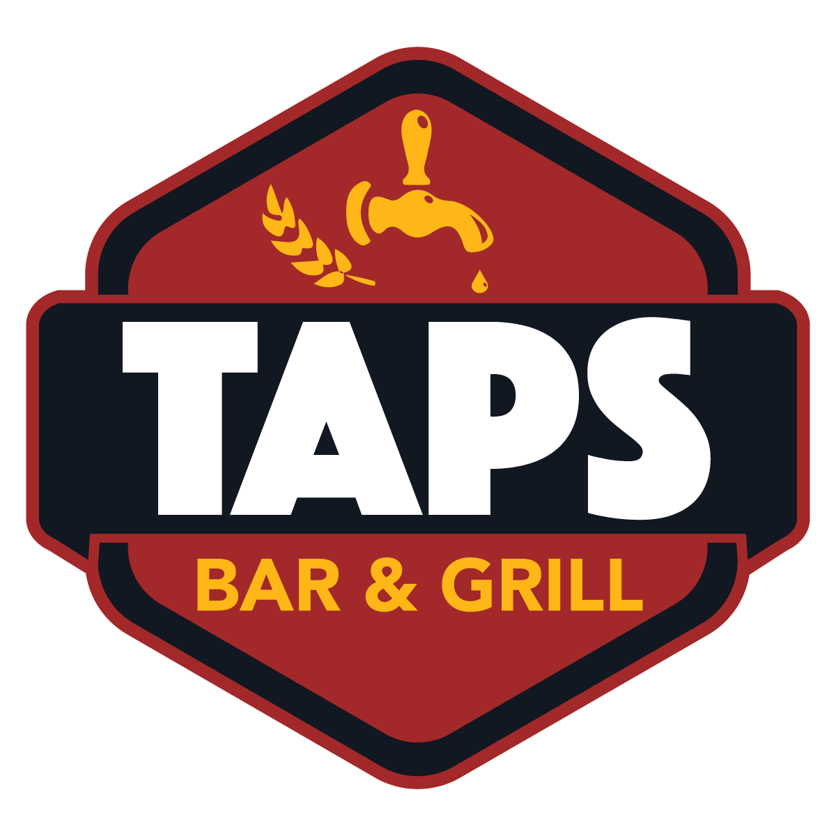 Taps Bar & Grill.