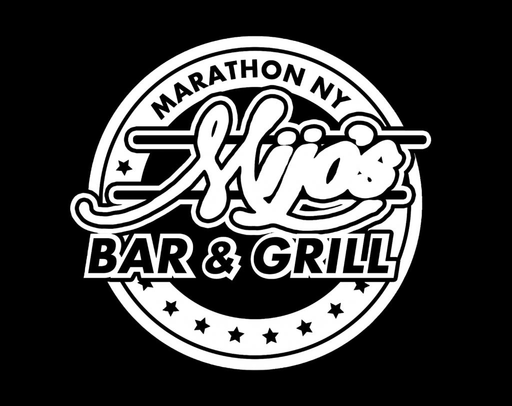 Mijo\'s Bar and Grill Logo.