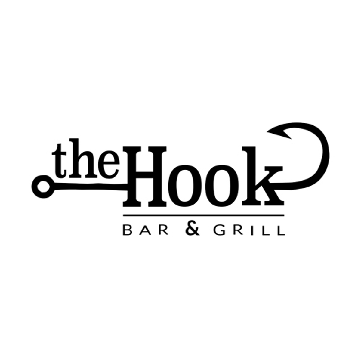The Hook Bar and Grill Logo.