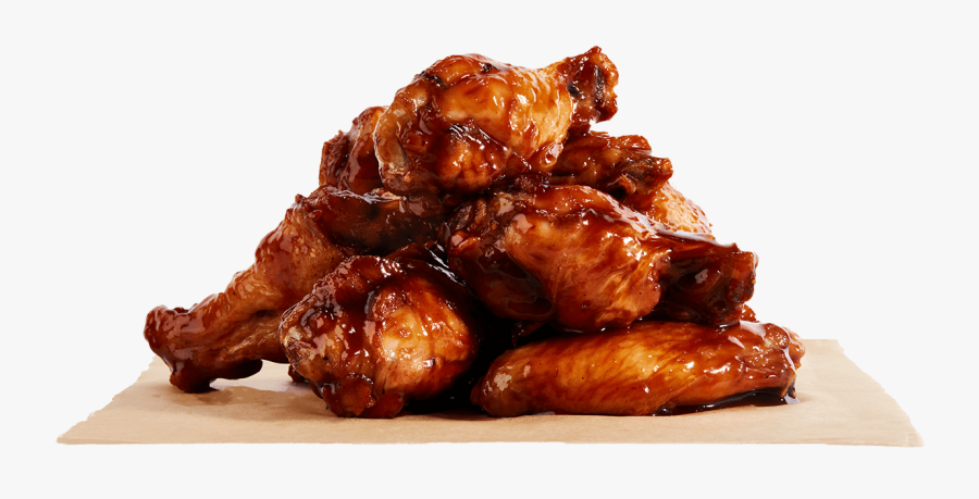 Bbq Chicken Wings Png , Free Transparent Clipart.