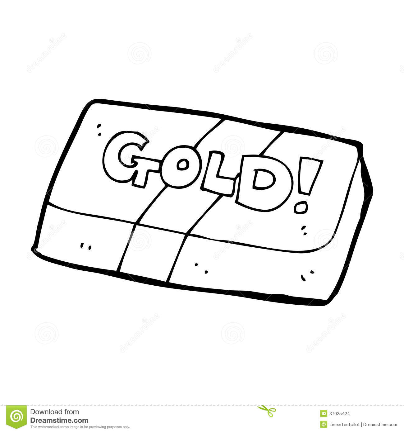 Gold Clipart Black And White.