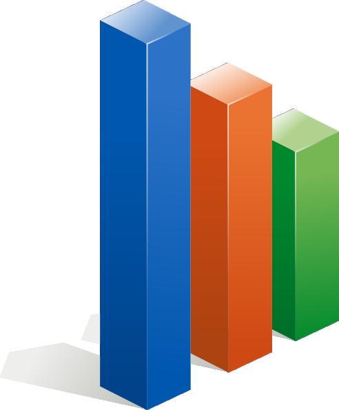 Column Chart Clip Art at Clker.com.