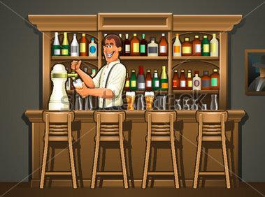 Pub Bar Clipart.