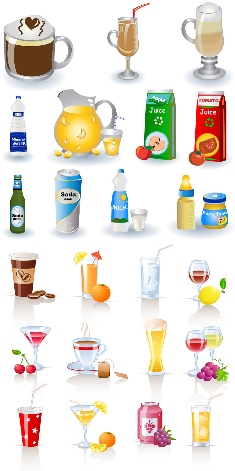 Free Drinks Cliparts, Download Free Clip Art, Free Clip Art.
