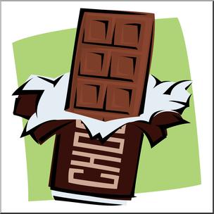 452 Chocolate Bar free clipart.
