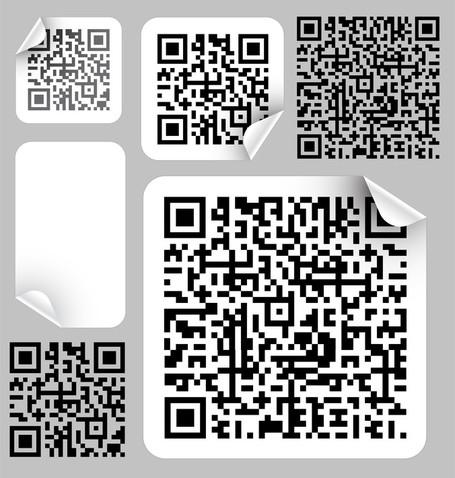 Bar Code Label 02, Vectors.