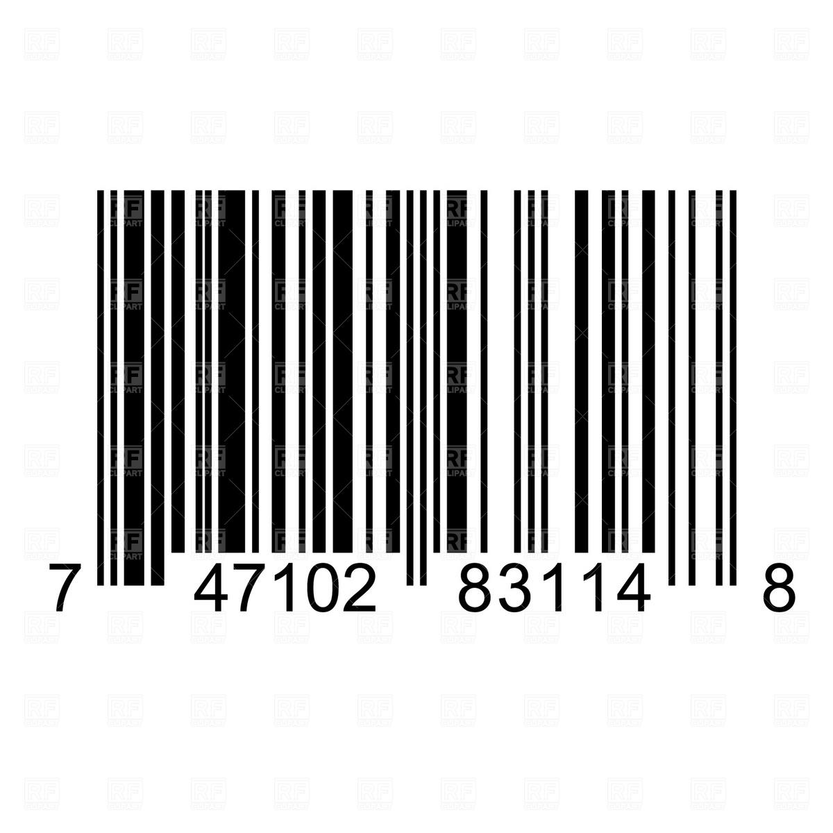 Barcode Cartoon Illustrations, Royalty-Free Vector