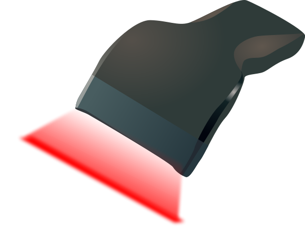 Barcode Scanner Clipart.