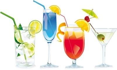 Cocktails clip arts, free clip art.