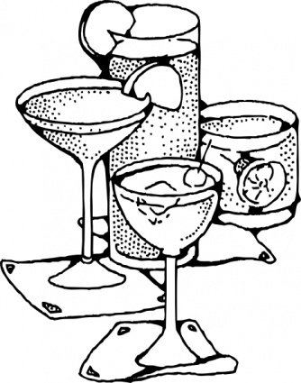 Bar Drinks Clipart Picture Free Download.