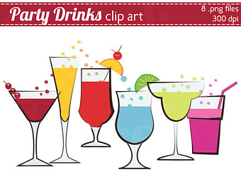 Summer Food And Drinks Clipart.