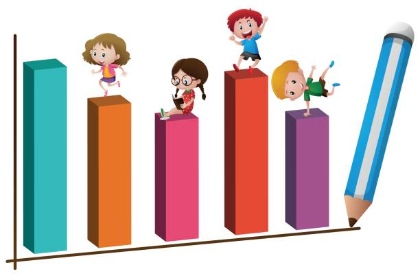 Bar Graph Clipart Pictures Illustrations, Royalty.