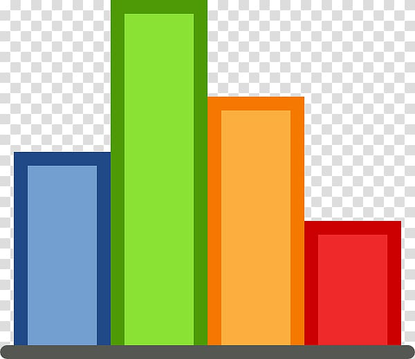 Bar chart , Bar Graph Icon transparent background PNG.