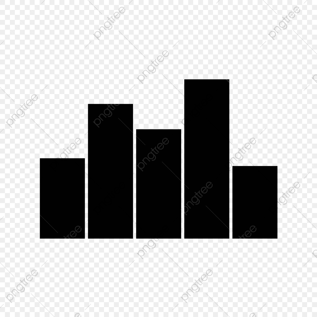 Vector Graph Icon, Bar, Graph, Stats PNG and Vector with Transparent.