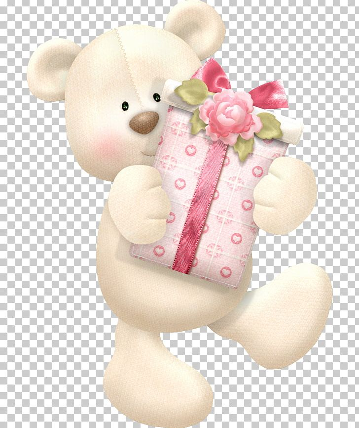 Bear Birthday Name Day Greeting & Note Cards Party PNG.