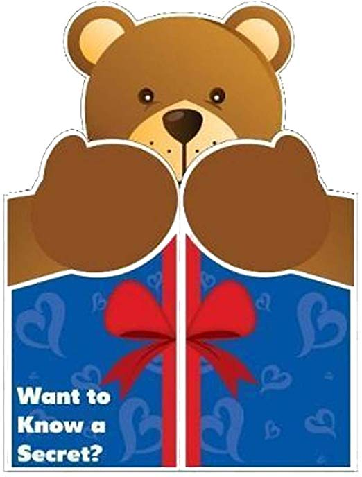 VictoryStore Jumbo Greeting Cards: Giant Love Card (Giant Bear Hug) 2\' x 3\'  Card with Envelope.