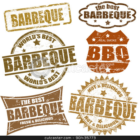 BBQ Party Clip Art.
