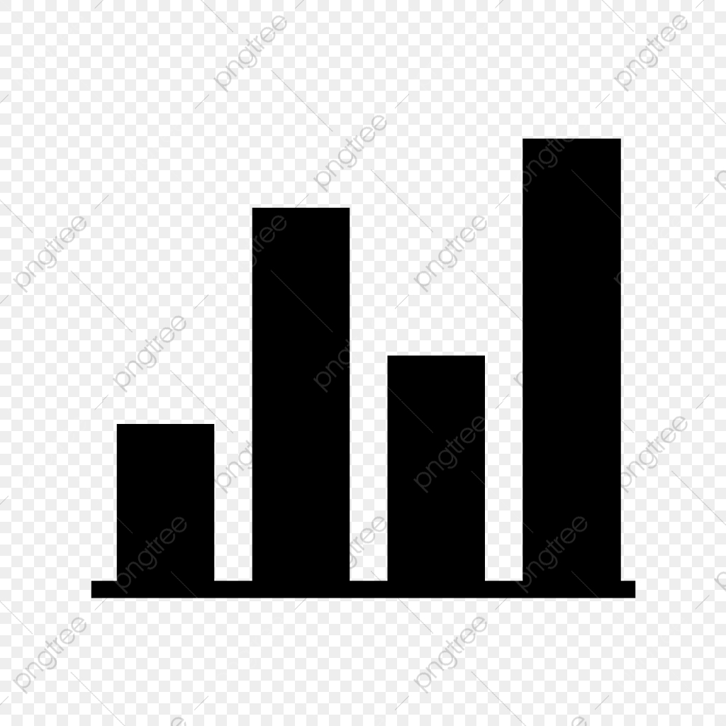 Vector Bar Icon, Bar Icon, Bars, Graph PNG and Vector with.