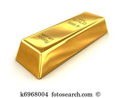Gold Bar Illustrations And Clip Art 6174 Royalty Free