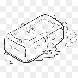 Soap Png Black And White & Free Soap Black And White.png Transparent.