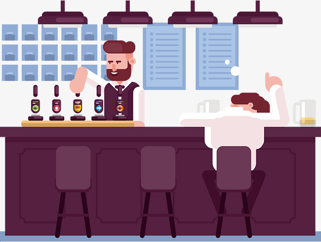 Bar Drink Png, Vector, PSD, and Clipart With Transparent Background.