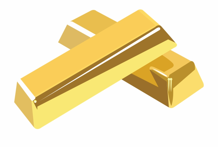 Gold Bar Vector.