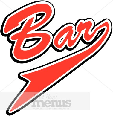 Bar sign clipart 3 » Clipart Station.